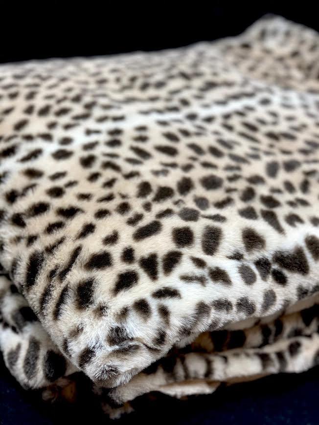 DigaC. Plaid Panther Fake Fur 130x170cm