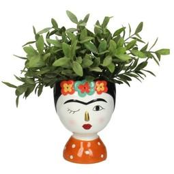 Vaas Lady Flower Multi 13.5x13cm