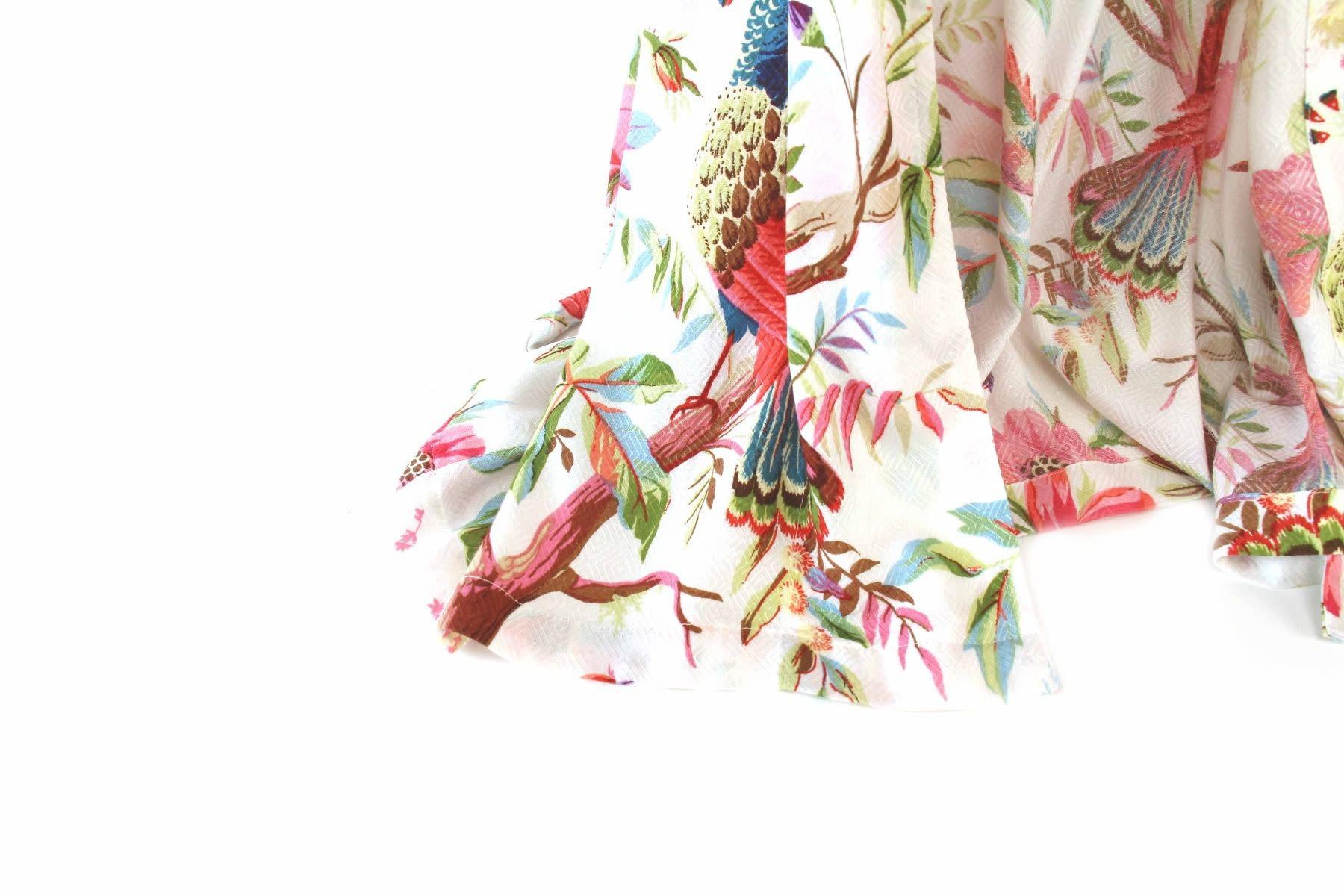 Imbarro Home & Fashion Imbarro Kimono Royal Paradise  White Onesize