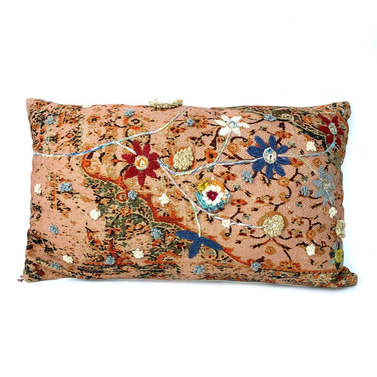 Imbarro Home & Fashion Imbarro Kussen Lolita Roze incl. binnenkussen 45x75cm