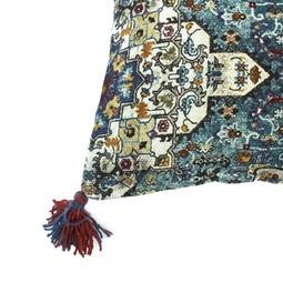 Imbarro Home & Fashion Imbarro Kussen Beau Blauw 50x50cm incl.binnenkussen