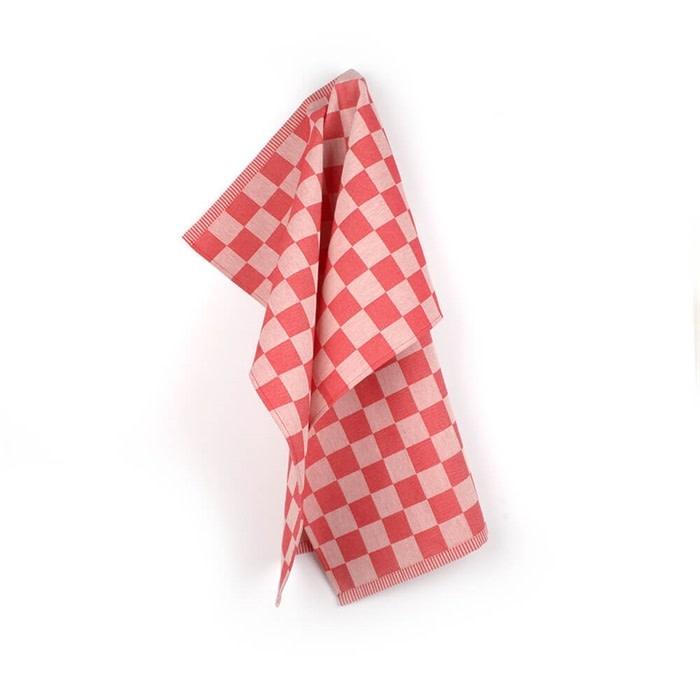 Bunzlau Castle Bunzlau Castle Kitchen Towel Block Red