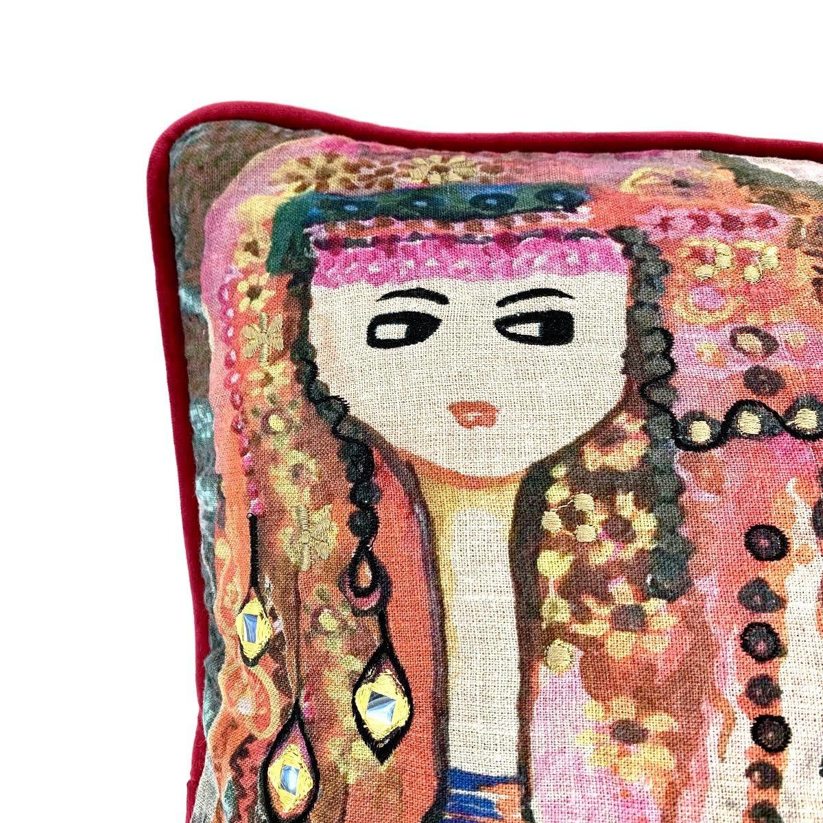 Imbarro Home & Fashion Imbarro kussen Charissa 50x50cm Inc.Binnenkussen