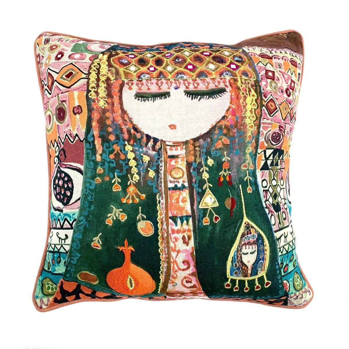 Imbarro Home & Fashion Imbarro Kussen Aisha 50x50cm Incl.binnenkussen