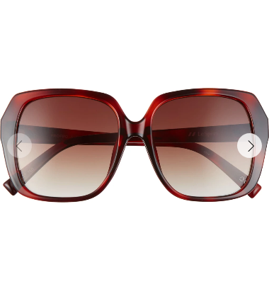 Le Specs Le Specs Frofro TOFFEE TORT W/ BROWN GRAD