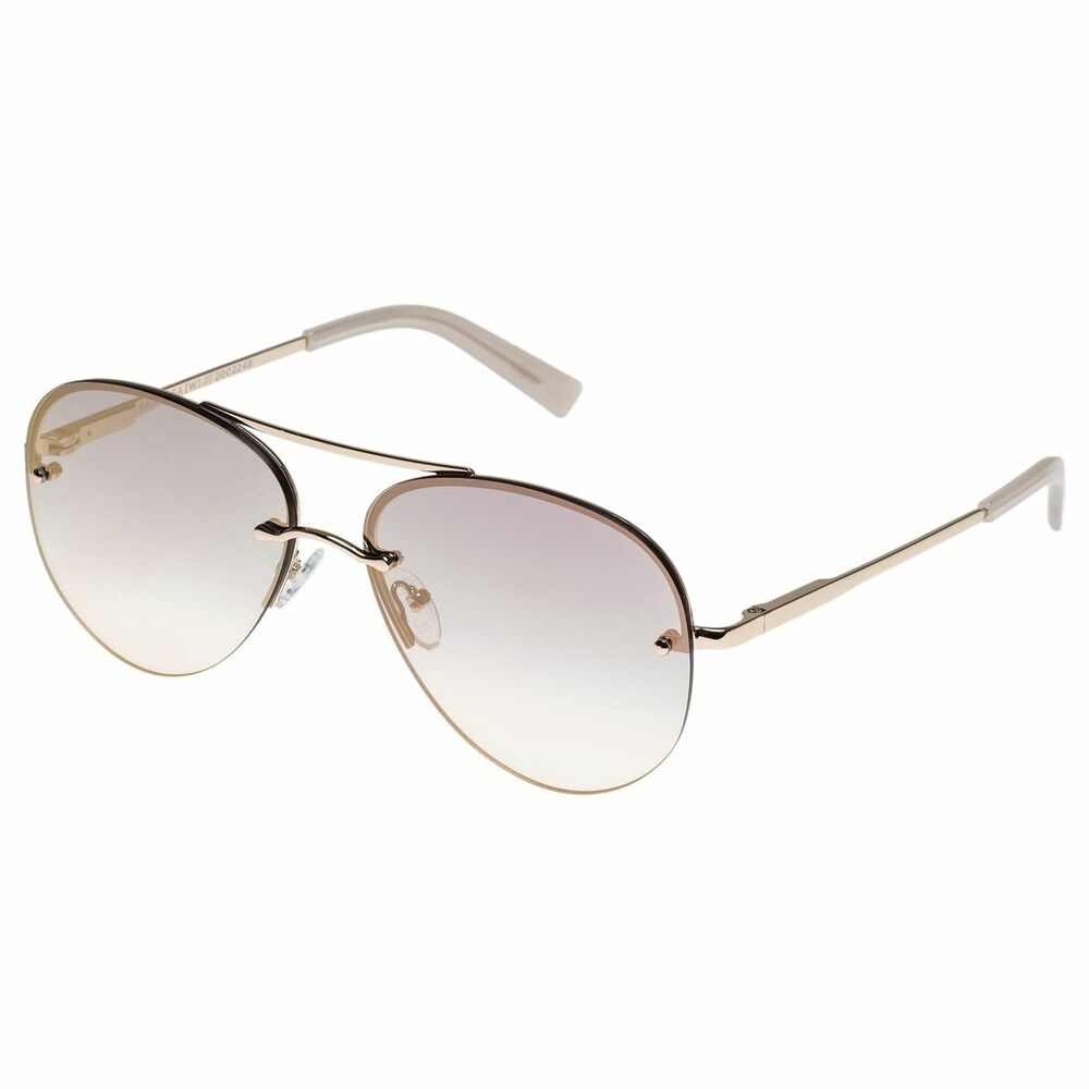 Le Specs Le Specs Panarea GOLD W/ SMOKE GRAD ROSE MIRROR