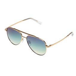 Le Specs Le Specs Evermore BRIGHT GOLD W/ OCEAN GRAD MIRROR