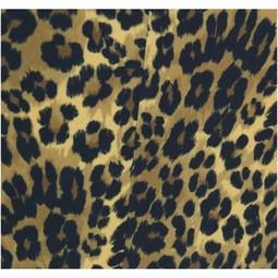 Stoel Leopard Brown 76x71x80cm