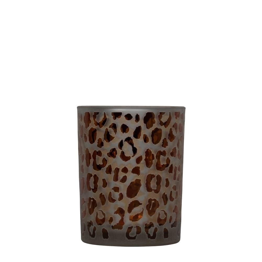 Mars Waxinelichthouder  Luipaard Print  Small