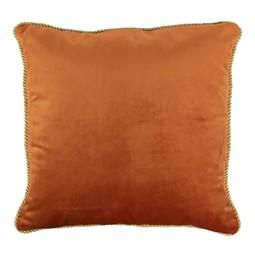 Mars Kussen Fluweel Goud Oranje 45x45cm Incl.Binnenkussen