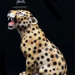 Kandelaar Cheetah 34cm