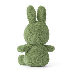 Nijntje/Miffy/Snuffy Miffy Sitting Terry Jungle Green - 23 cm
