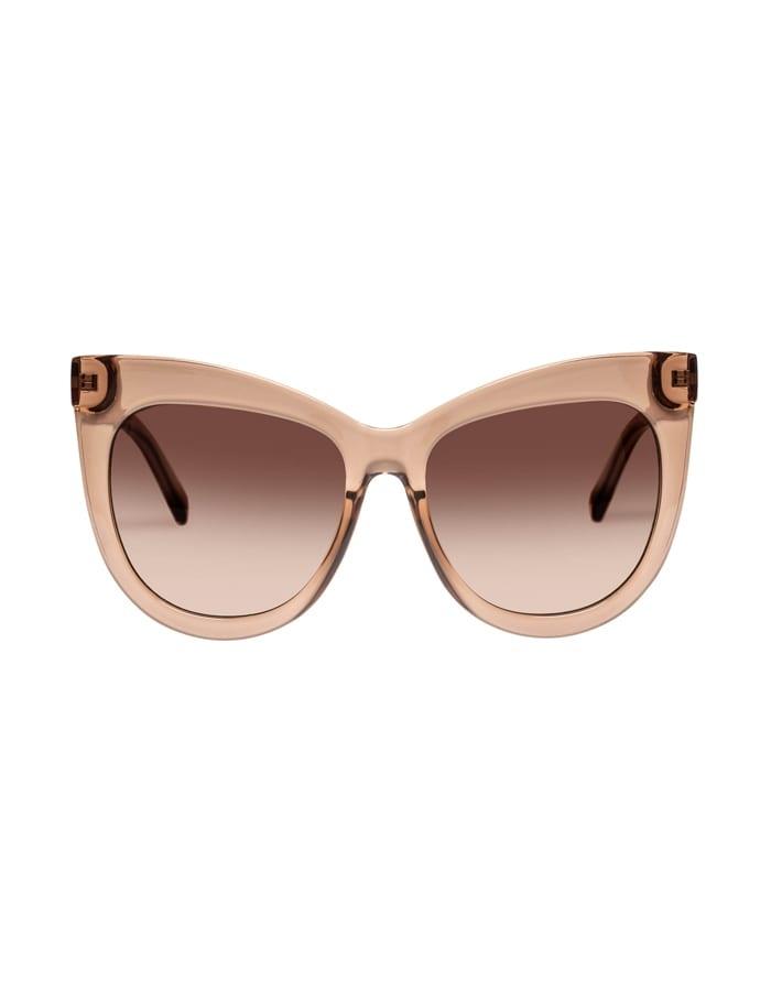 Le Specs Le Specs Hidden Treasure Tan w/Brown Grad Lens