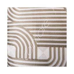 Cushion Natural/Gold Cotton 50x50cm