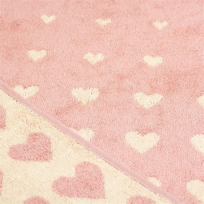 Bunzlau Castle Bunzlau Castle Kitchen Towel Hearts Pink