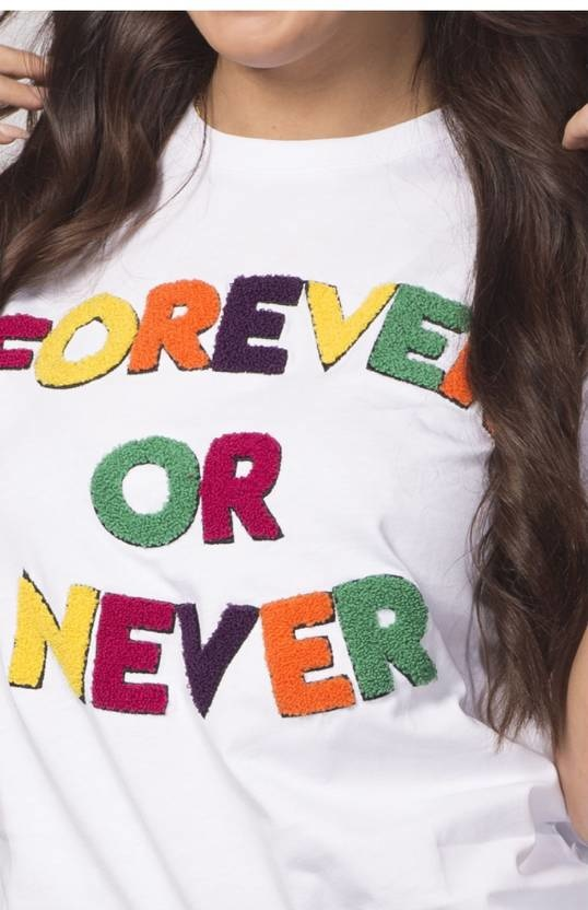 My Brand T-Shirt Forever Or Never Wit-7