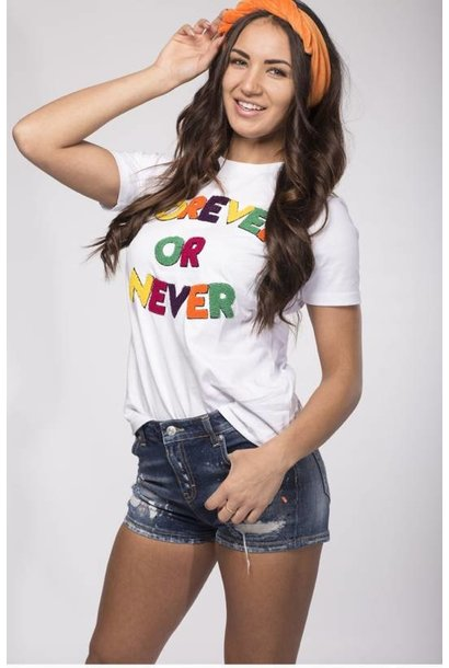 My Brand T-Shirt Forever Or Never Wit