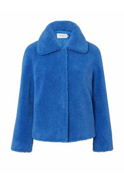 Stand Gilbertine Jacket Electric Blue