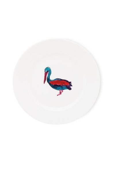 Fabienne Chapot Cake Plate Pelican 17 Cm