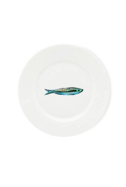 Fabienne Chapot Cake Plate Sardines 18 Cm