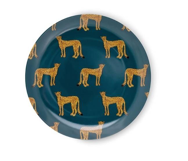 Fabienne Chapot Breakfast Plate Cheetah-1