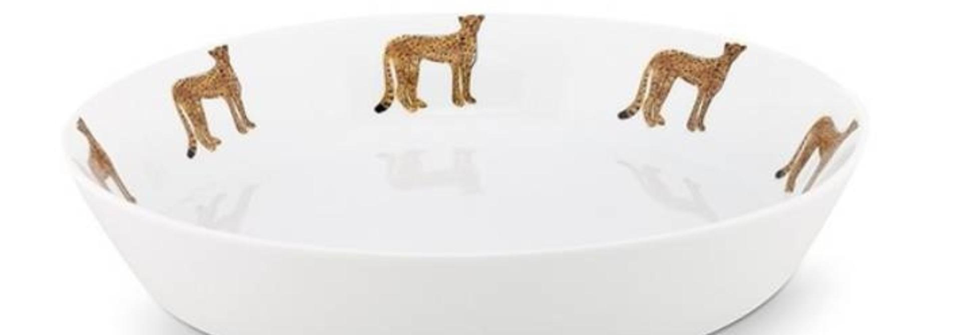 Fabienne Chapot Pasta Plate Pasta Plate Cheetah 21,5 Cm