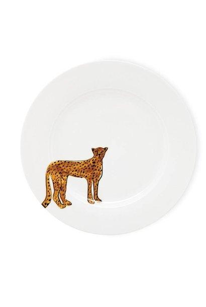 Fabienne Chapot Dinner Plate Cake Plate Cheetah 27 Cm