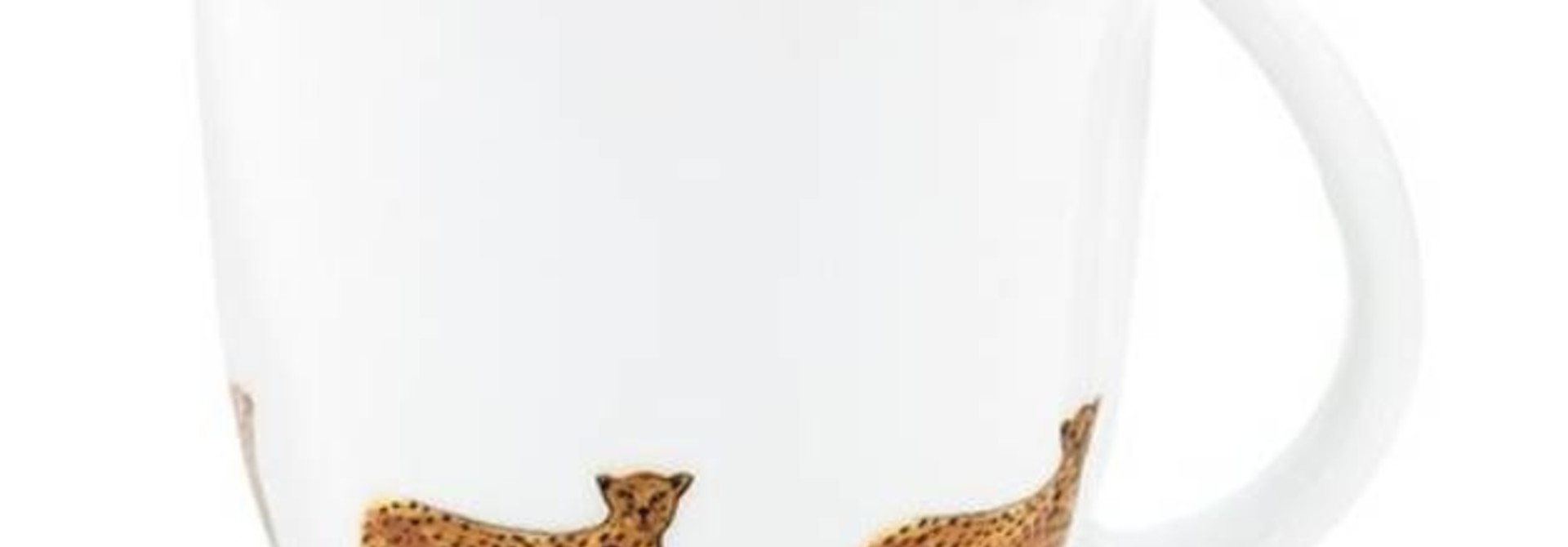 Fabienne Chapot Mug Small Cheetah