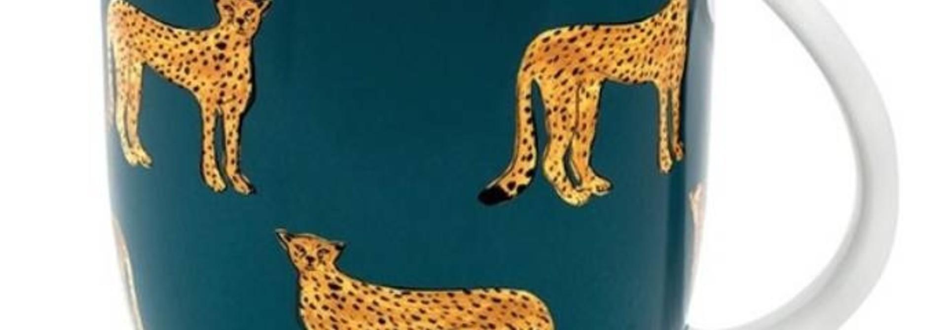 Fabienne Chapot Mug Large Cheetah