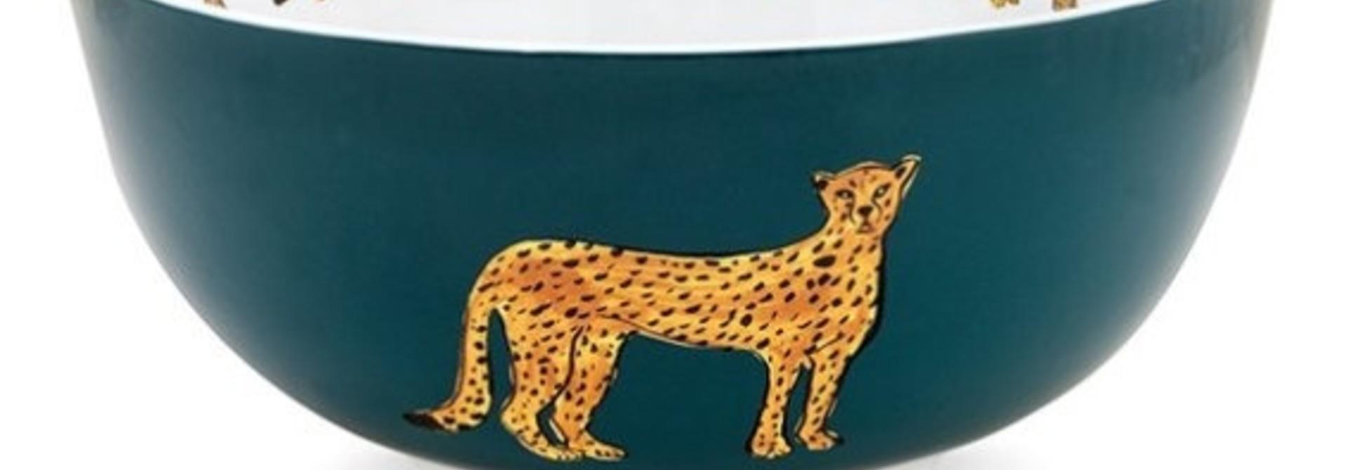 Fabienne Chapot Bowl Cheetah Bowl Cheetah 23 Cm