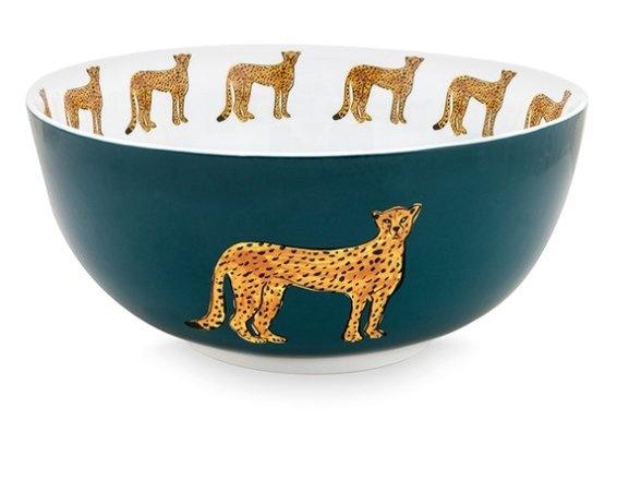Fabienne Chapot Bowl Cheetah Bowl Cheetah 23 Cm-1
