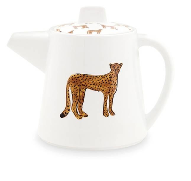Fabienne Chapot Teapot Large Cheetah-1