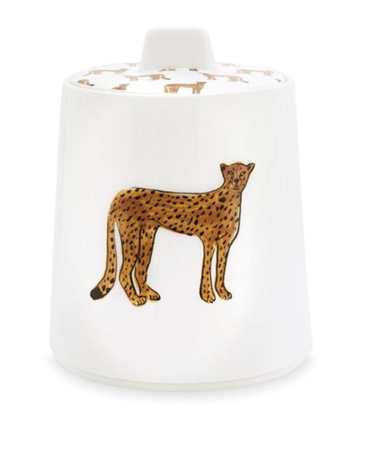 Fabienne Chapot Storage Jar Cheetah-1