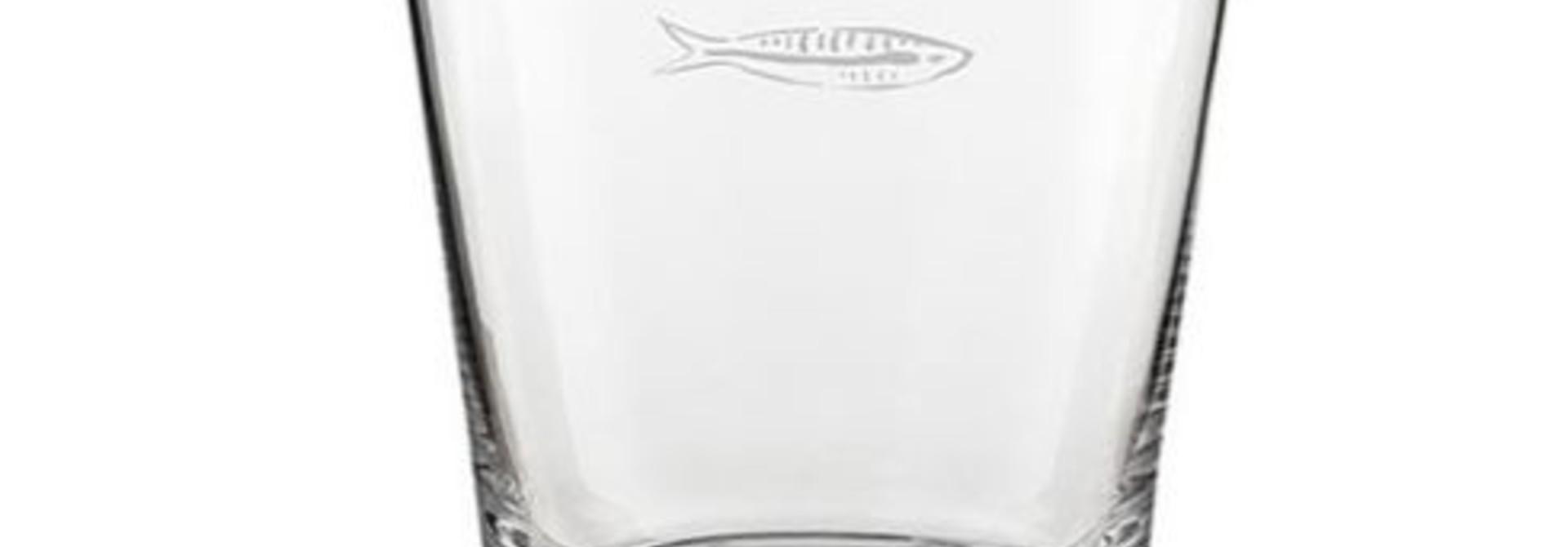 Fabienne Chapot Water Glass Sardines
