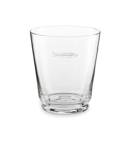 Fabienne Chapot Water Glass Sardines-1