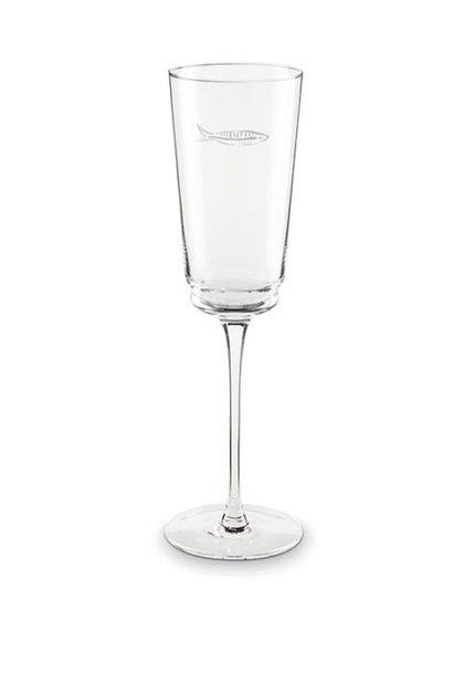 Fabienne Chapot Champagne Glass Sardines