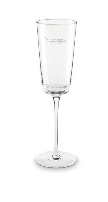 Fabienne Chapot Champagne Glass Sardines-1