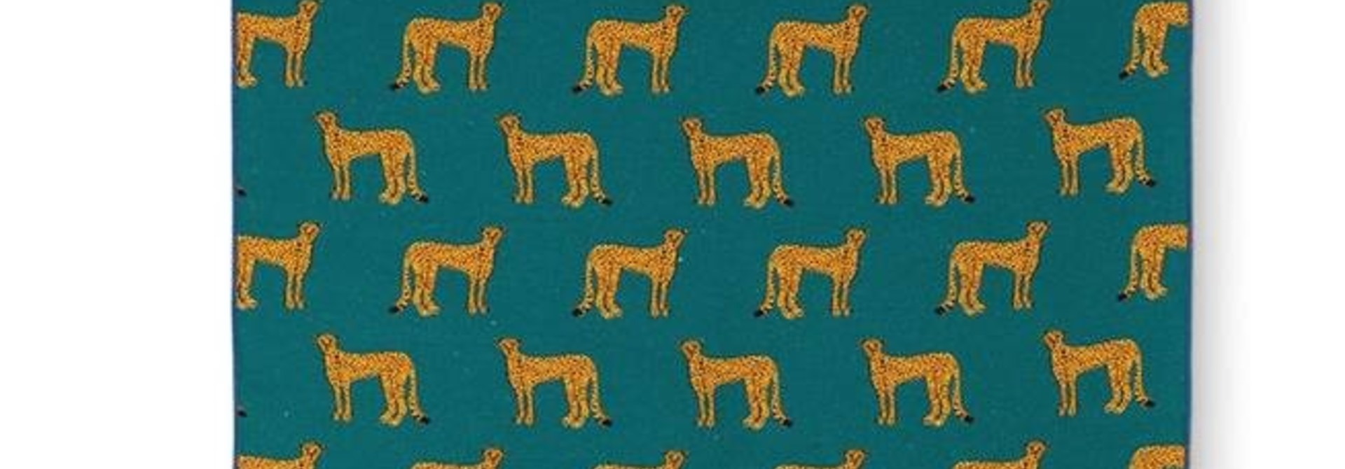 Fabienne Chapot Tea Towel Cheetah