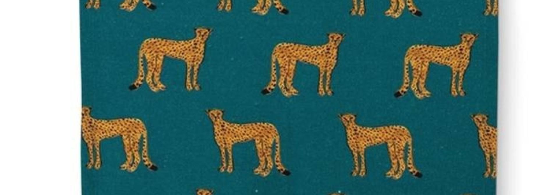 Fabienne Chapot Napkin Cheetah