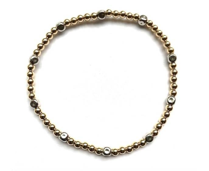 Ps Call Me Silver/Gold Bracelet-1