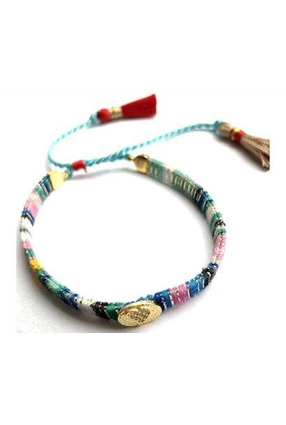 Ps Call Me Multi Blue Bracelet