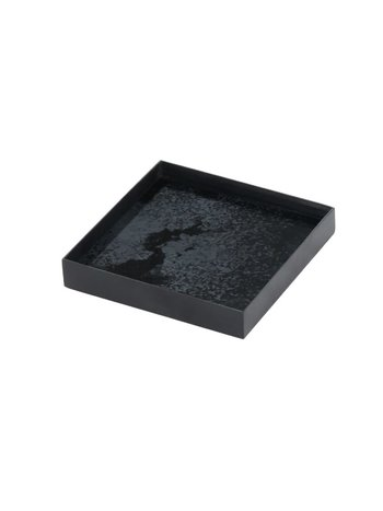 Charcoal glass tray