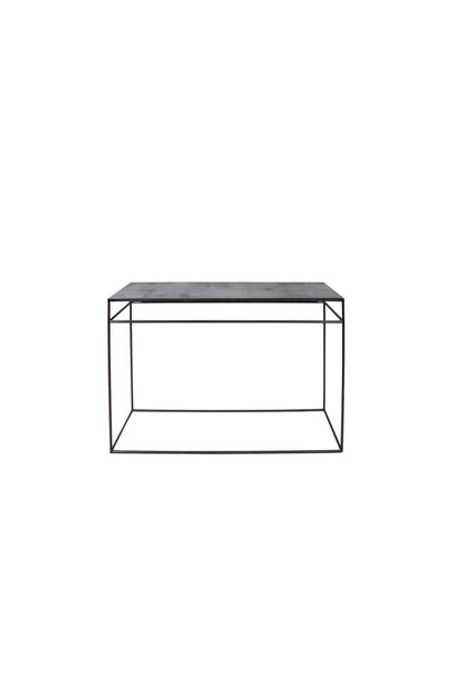 Charcoal accent table