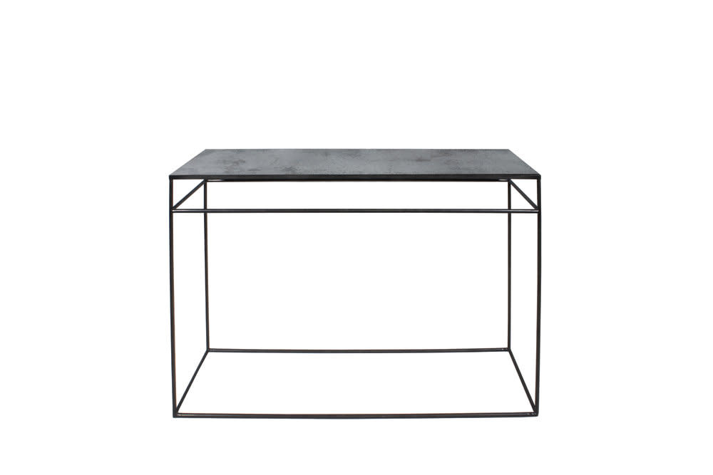 Charcoal accent table-1