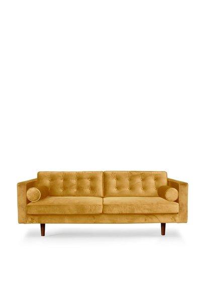 Sofa gold velvet