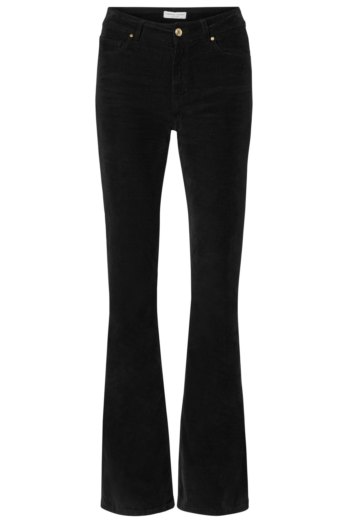 Eva Corduroy flare trouser-1