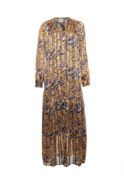 Arlette print dress