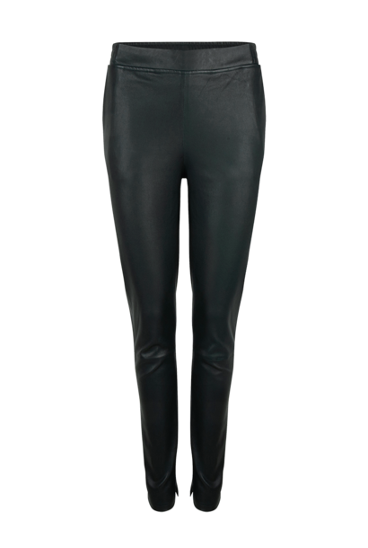 Lebon stretch leather pants