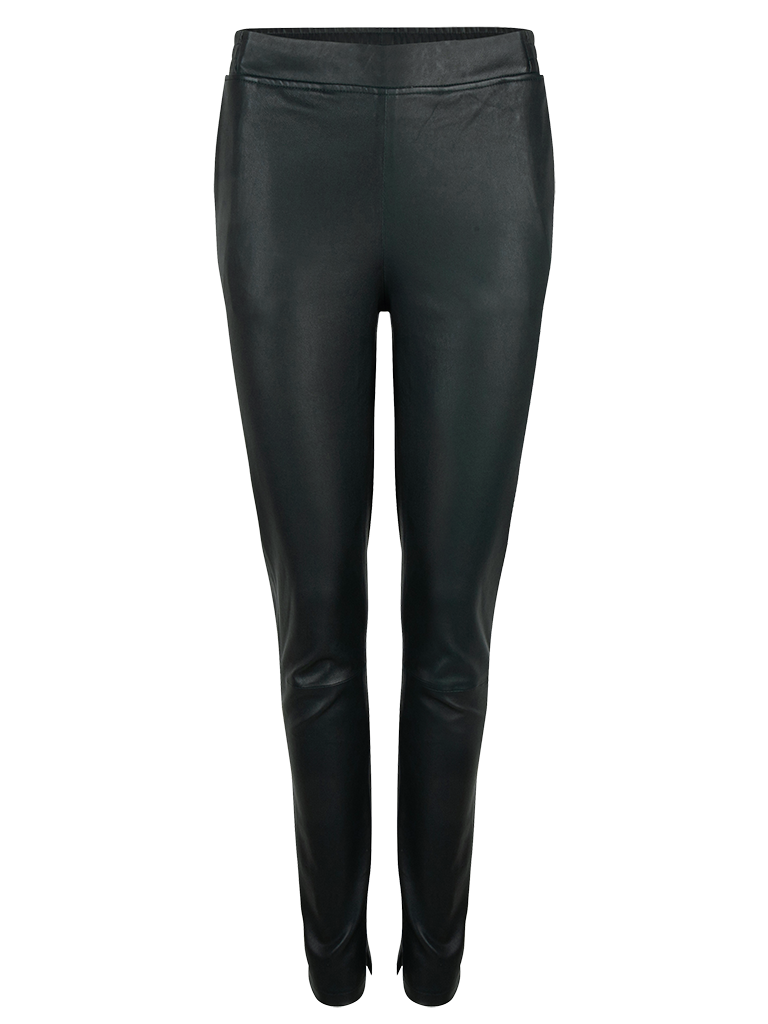 Lebon stretch leather pants-1