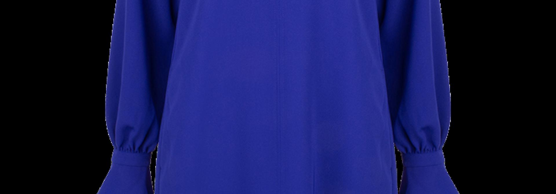 Celsha high collar dress
